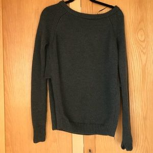 Lululemon Charcoal sweater